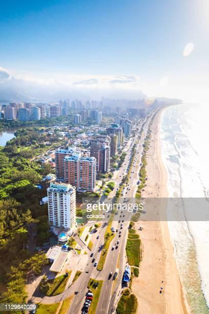 バーラ · ダ tijuca の航空写真 - バーラ地区 ストックフォトと画像