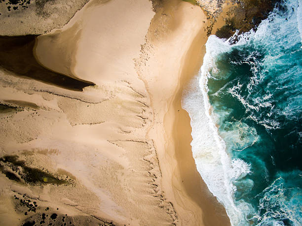 Aerial View Of Beach And Sea Wall Art