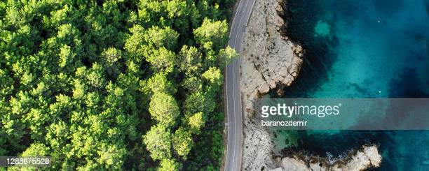aerial view of beautiful nature - turkey middle east stock pictures, royalty-free photos & images