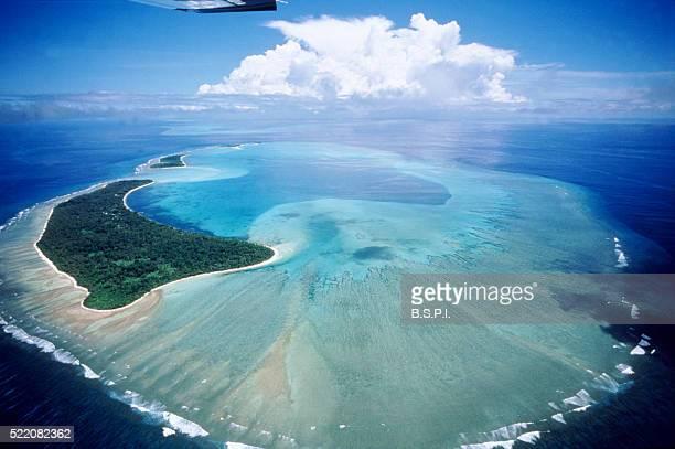 Aerial view of Belau