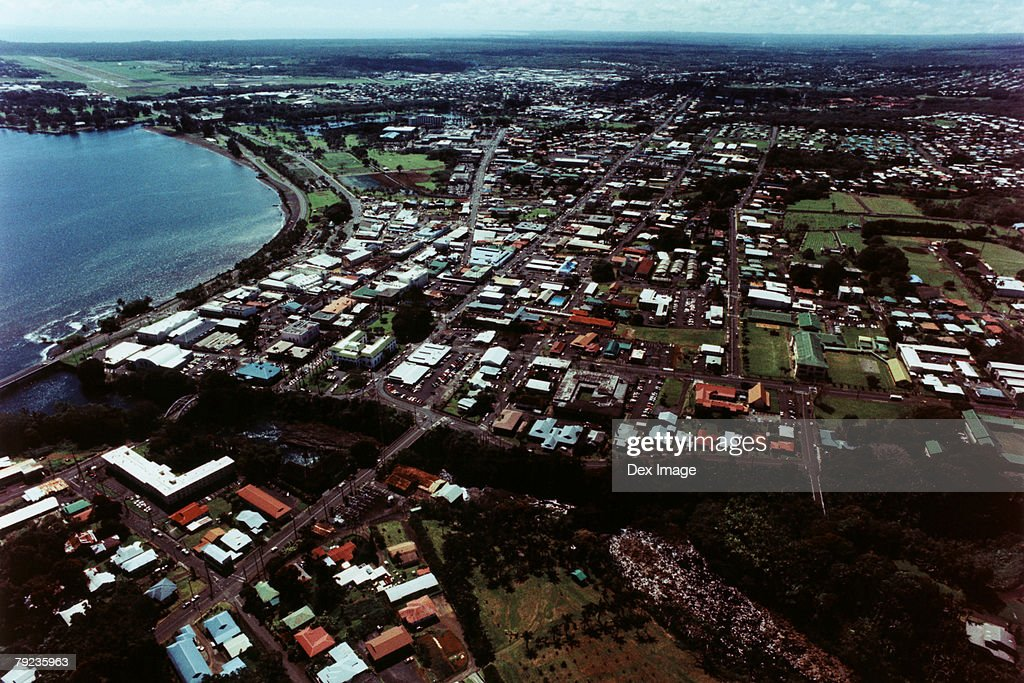 Aerial view of Big Island, Hawaii : Stock Photo