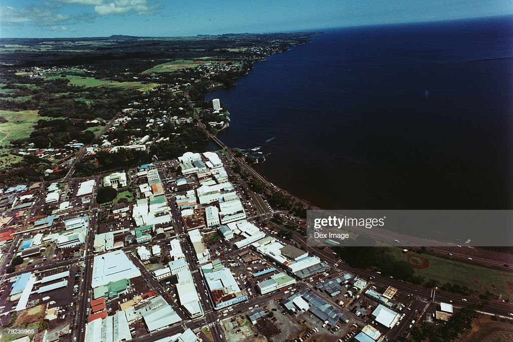 Aerial view of Big Island, Hawaii : Stock Photo