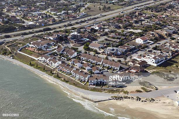 Aerial view of Bluewater suburb, Port Elizabeth