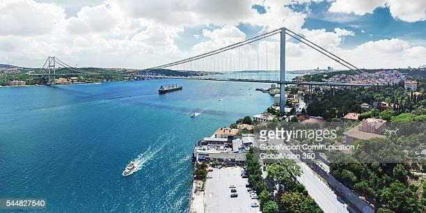 Aerial View of Bosphorus, Istanbul