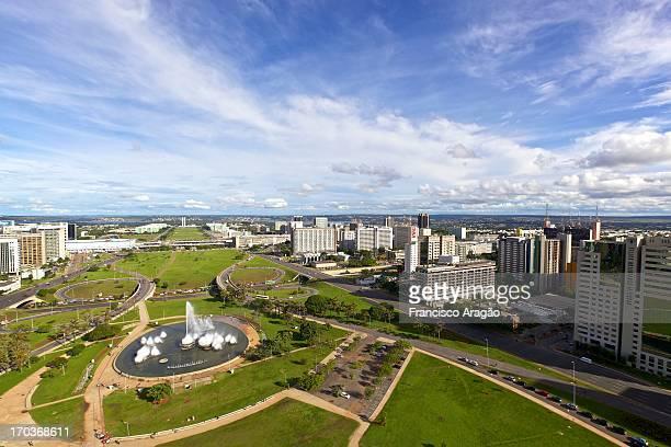 Aerial view of Brasilia