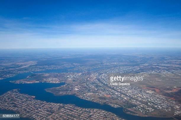 Aerial view of Brasília