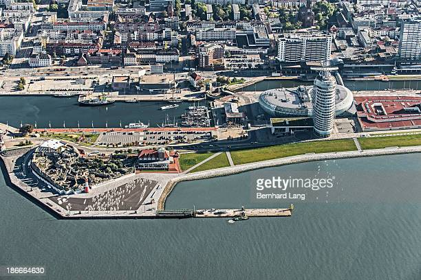 Aerial view of Bremerhaven