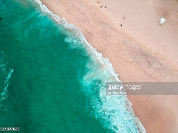 Aerial view of Bronte Beach, New South Wales, Australia