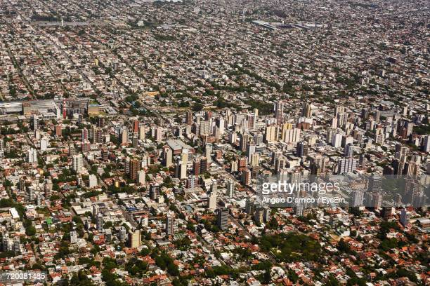 Aerial View Of Buenos Aires Cityscape