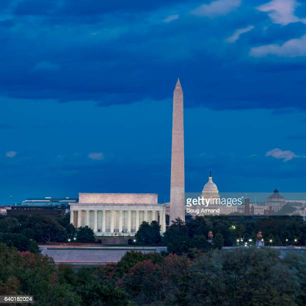 24 Washington Dc Night Aerial Pictures Photos Images Getty Images