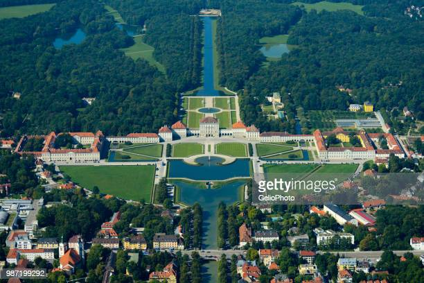 aerial view of buildings in munich, germany. - ニュルンベルク ストックフォトと画像