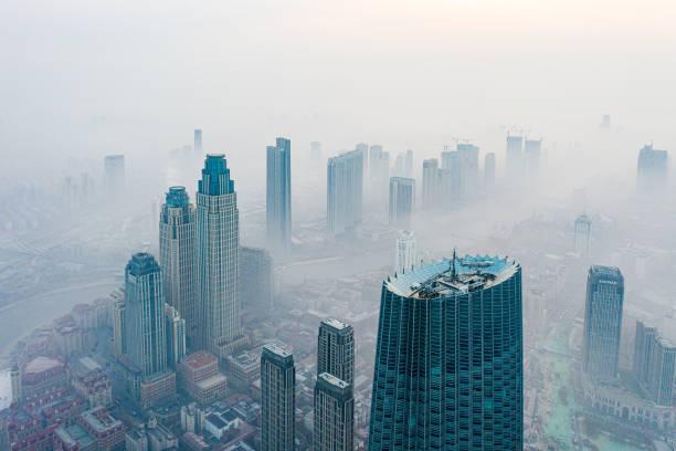 CHN: Dense Fog Blankets Tianjin