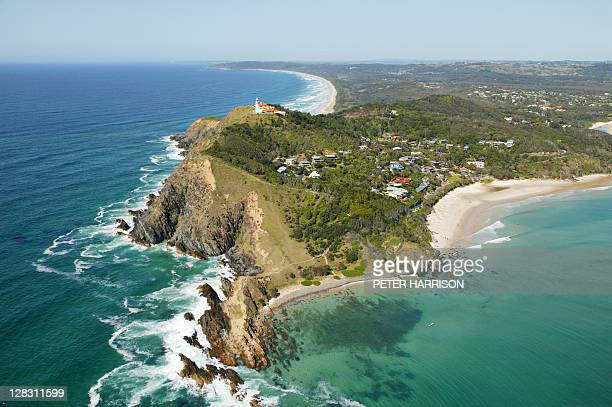 Aerial view of Byron Bay, NSW, Australia