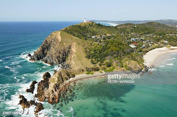 Aerial view of Byron Bay, NSW, Australia