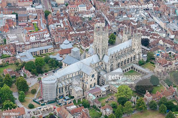 Aerial view of Canterbury Cathedral PICTURE NOT INCLUDED IN THE CONTRACT