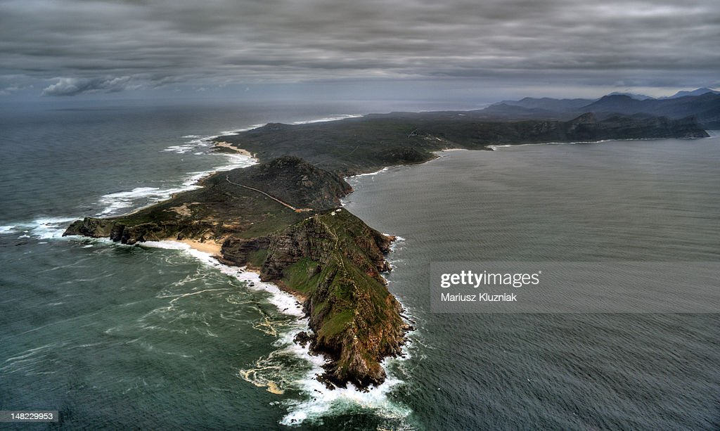Aerial view of Cape of Good Hope : Stock Photo