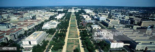Aerial view of Capitol Building