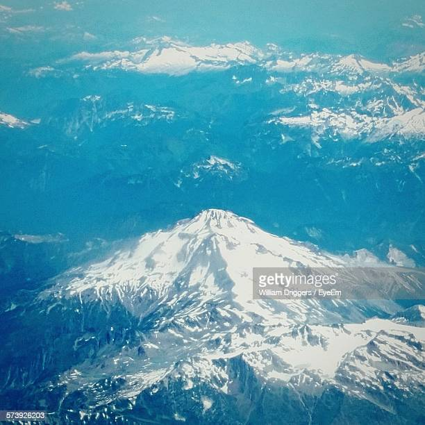 Aerial View Of Cascade Range