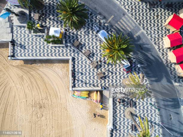 aerial view of cascais, portugal - cascais stock photos and pictures