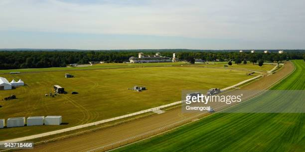 aerial view of chantilly (oise) - hauts de france stock photos and pictures