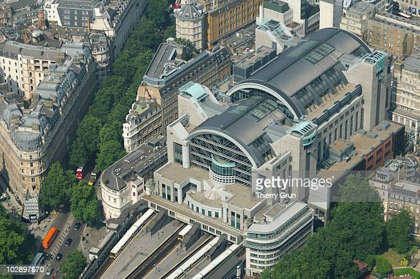 Aerial view of Charing Cross railway station