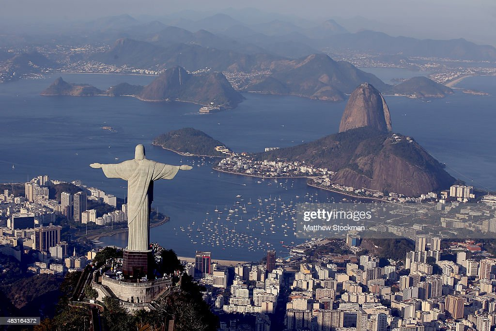 One Year Out, Rio Continues Preparations For The 2016 Olympics : News Photo