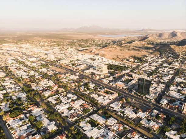 Aerial view of city, Hermosillo, Mexico, Sonora