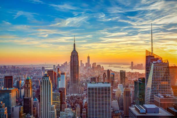Aerial View City New York - Fine Art prints