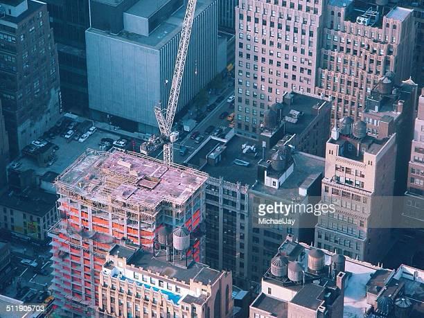 空から見たシティ