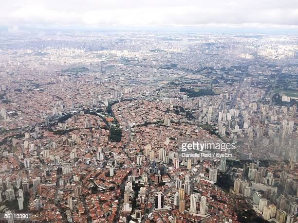 aerial view of city - danielle reid stock pictures, royalty-free photos & images