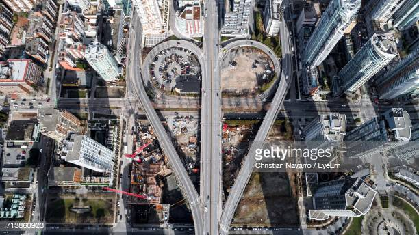 aerial view of city - vancouver canada stock pictures, royalty-free photos & images