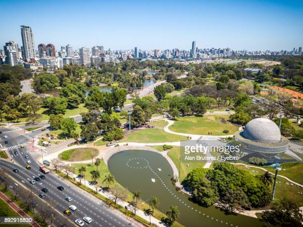 aerial view of cityscape - buenos aires stock pictures, royalty-free photos & images