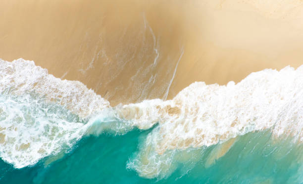 Aerial View Clear Turquoise Sea - Fine Art prints
