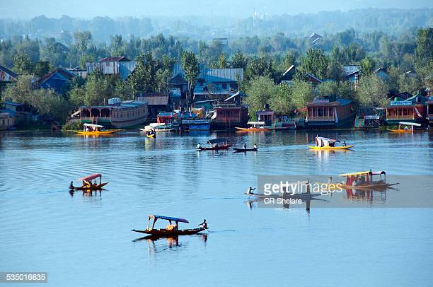 Aerial View of Dal Lake, Srinagar