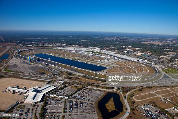Aerial View of Daytona Speedway, Florida