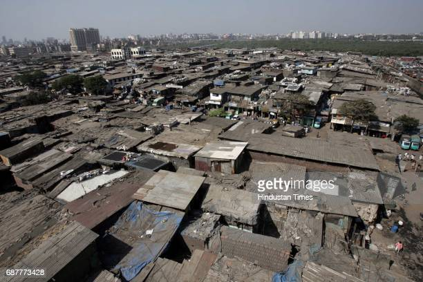 Aerial view of Dharavi