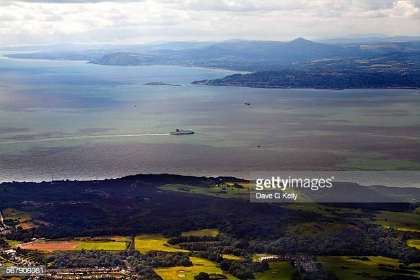 Aerial View of Dublin Bay