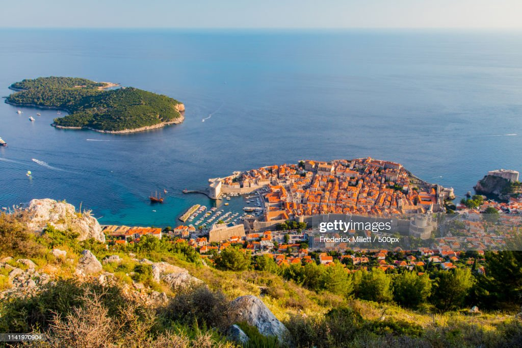 Aerial View Of Dubrovnik Iii : ストックフォト