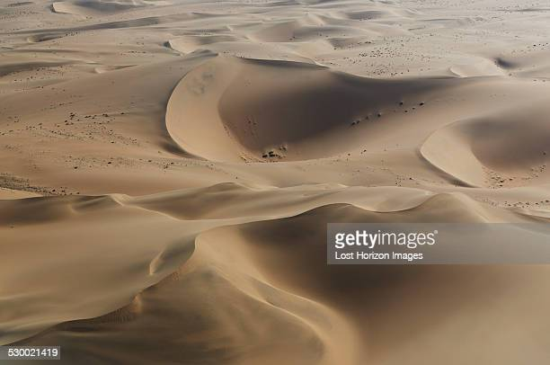 Aerial view of dunes, Namib Desert, Namibia