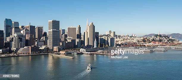 Aerial View of Embarcadero - San Francisco