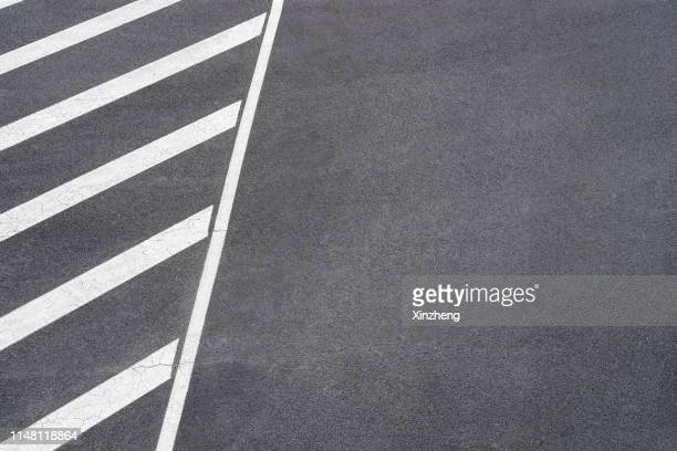 aerial view of empty asphalt road - tarmac stock pictures, royalty-free photos & images