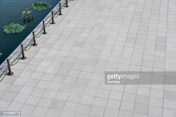 aerial view of empty road - pavement stock pictures, royalty-free photos & images