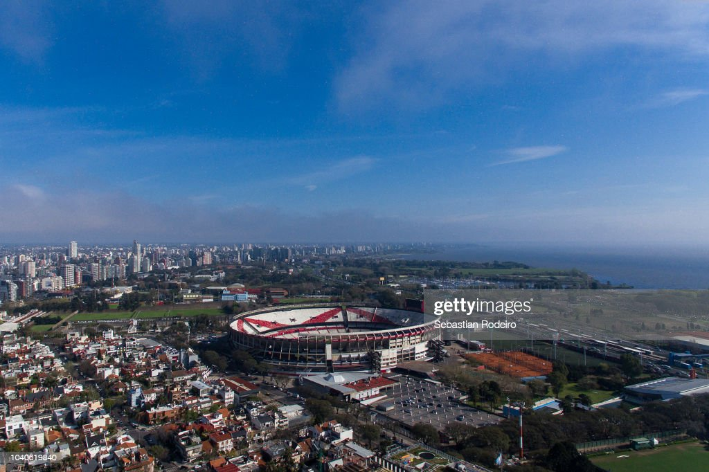 El Monumental From The Sky