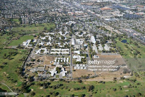 Aerial view of Fairview Developmental Center photographed during a media flight for the Great Pacific Airshow in Costa Mesa CA on Thursday Oct 3 2019