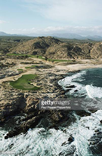 General view of Cabo Del Sol taken during a photocall held at the Sea of Cortes Los Cabos Baja Mexico