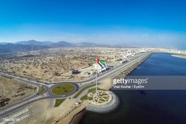Aerial View Of Fujairah By Sea