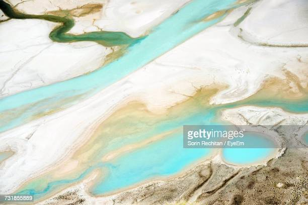 Aerial View Of Glacial Landscape