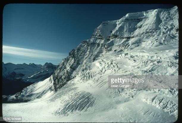 Aerial View of Glacier Jasper National Park