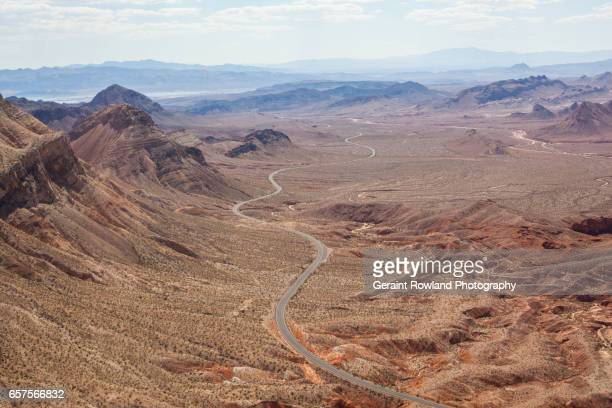 aerial view of grand canyon national park - route 66 stock photos and pictures