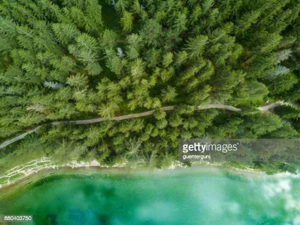 Luftaufnahme von Green Lake in der Steiermark, Österreich